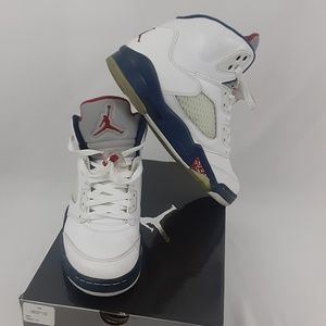 Air Jordan 5 Retro Shoes Size 7.5
